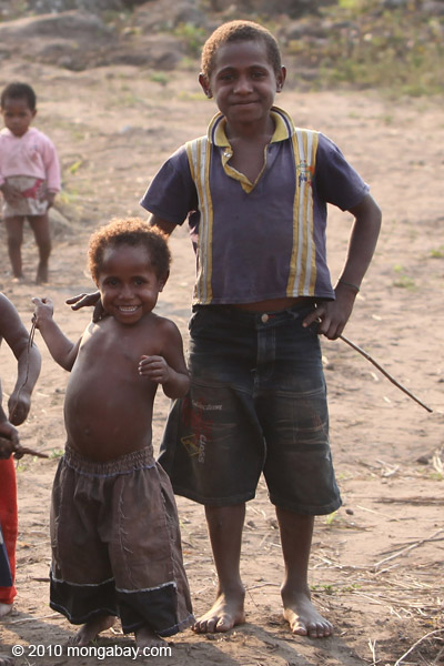 Papuan kids