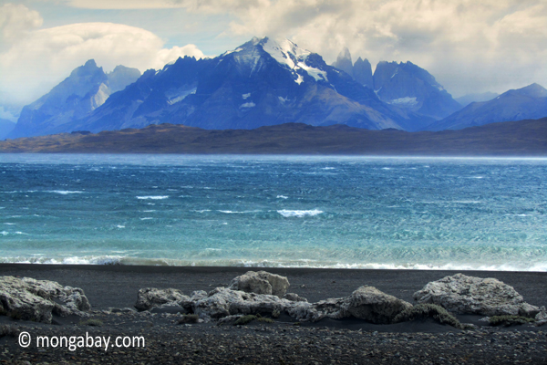 Photo: Lake Pehoe in Torres del Paine National Park, Chile