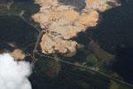 Massive gold mine in the Amazon