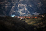 Small village in the Peruvian Andes