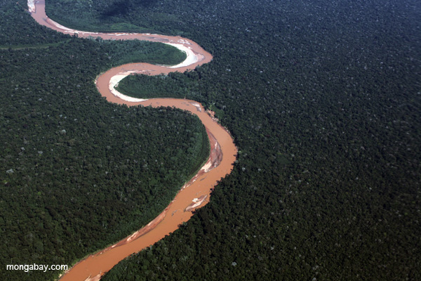 River in the Peruvian Amazon. Photo by: Rhett A. Butler.