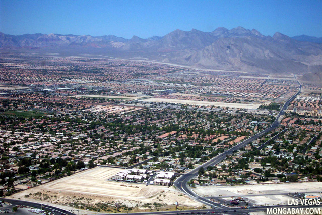 Urban sprawl in Las Vegas, Nevada