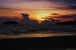 Sunset on a beach in Kota Kinabalu -- sabah_0097