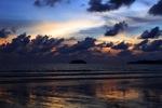Sunset on a beach in Kota Kinabalu -- sabah_0114
