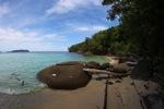 Sapi Island beach