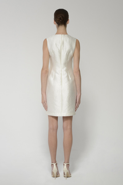 Jackiedress ivory back 2