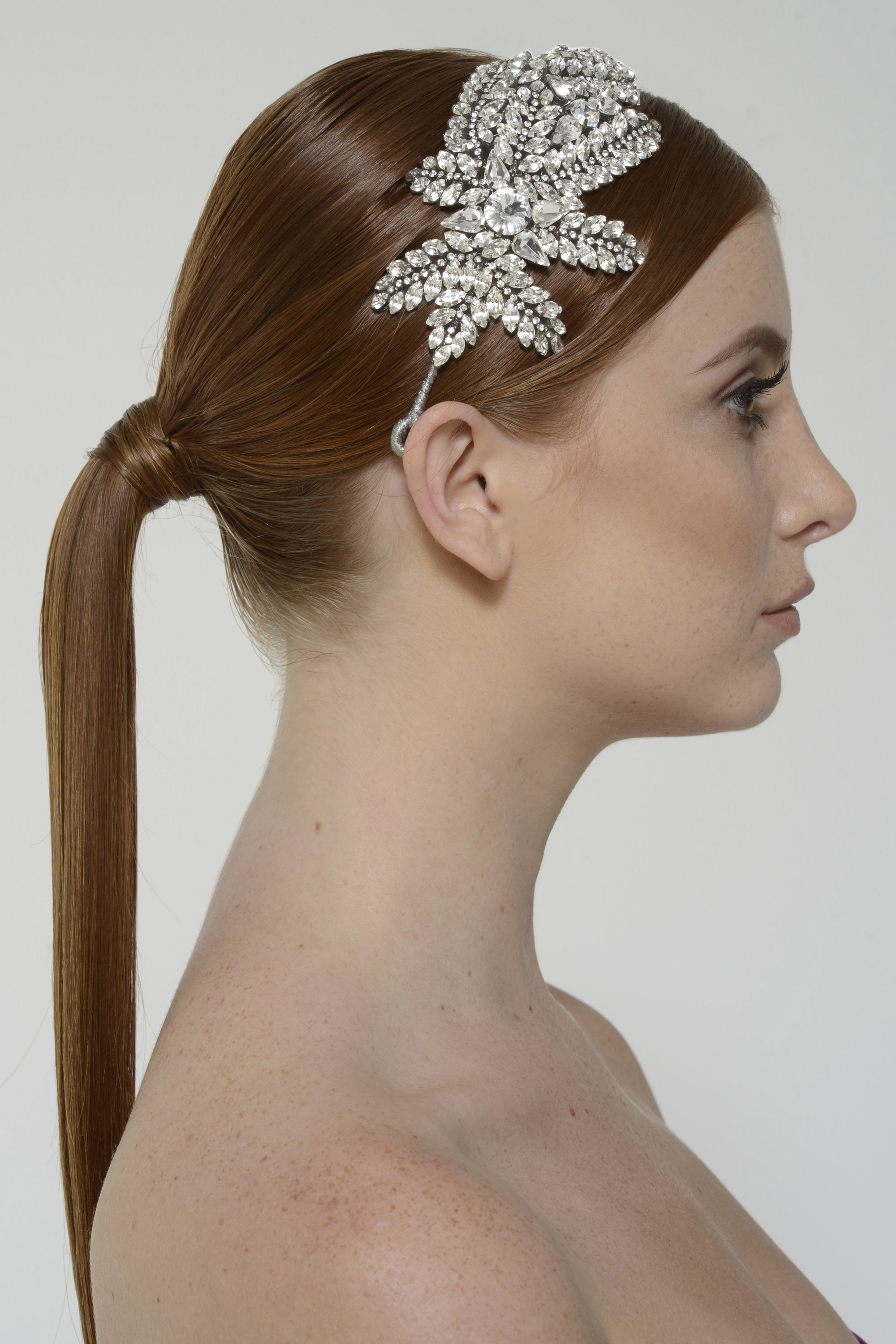 Sandrineheadpiece crystal back 2