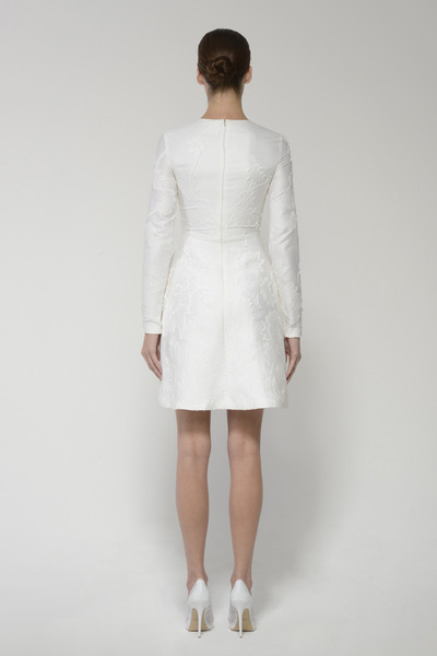 Minniedress silkwhite back 2