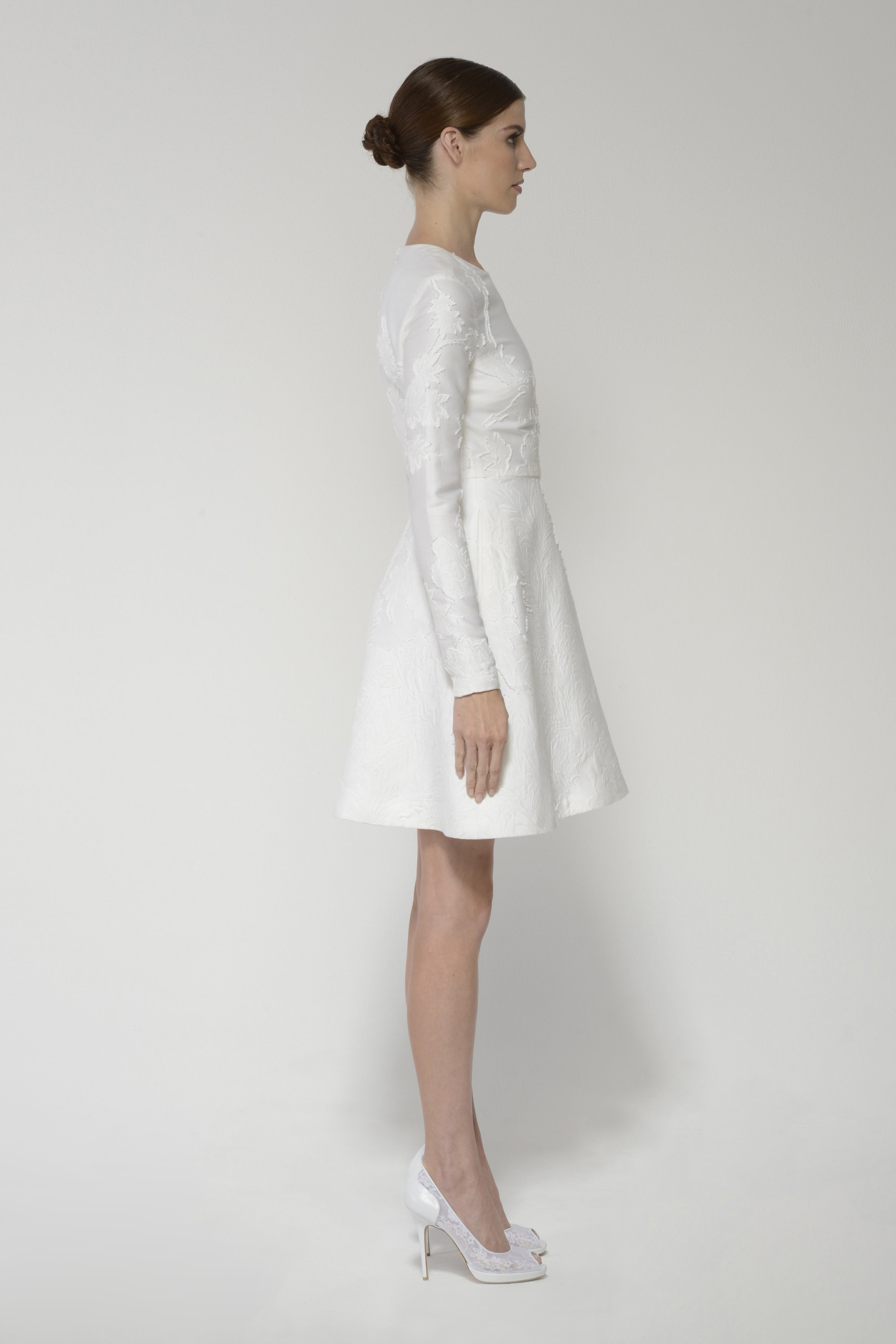 Minniedress silkwhite left 1