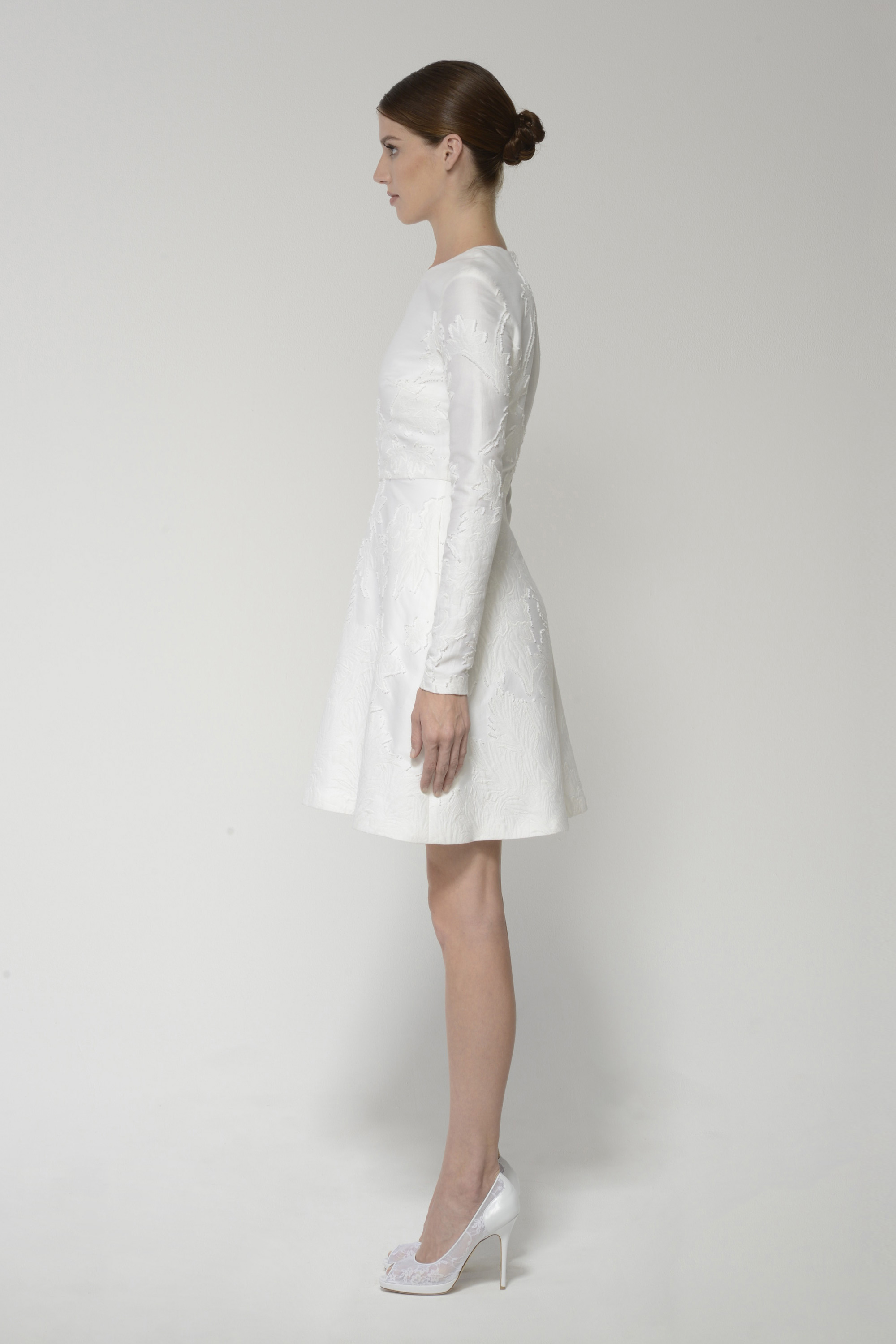 Minniedress silkwhite right 3