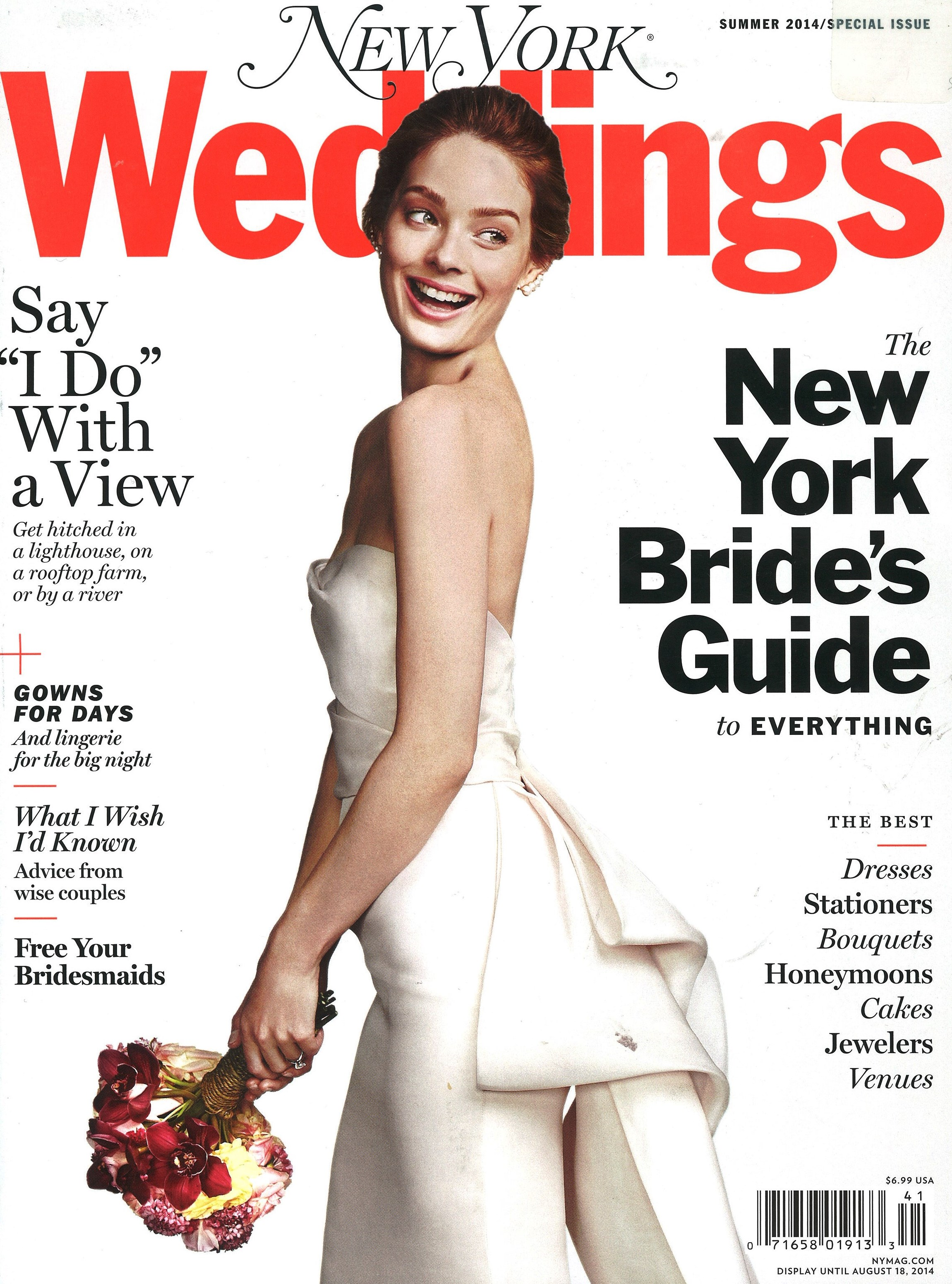 New york weddings summer 2014 cover