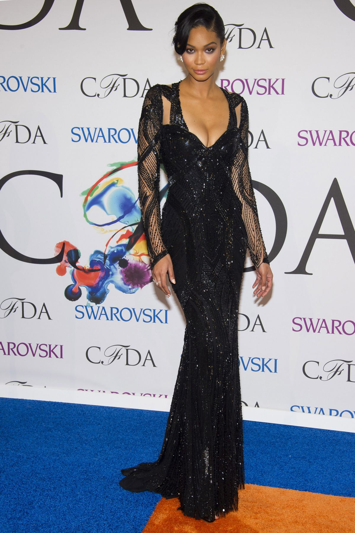 Chanel iman at cfda fashion awards in new york 1