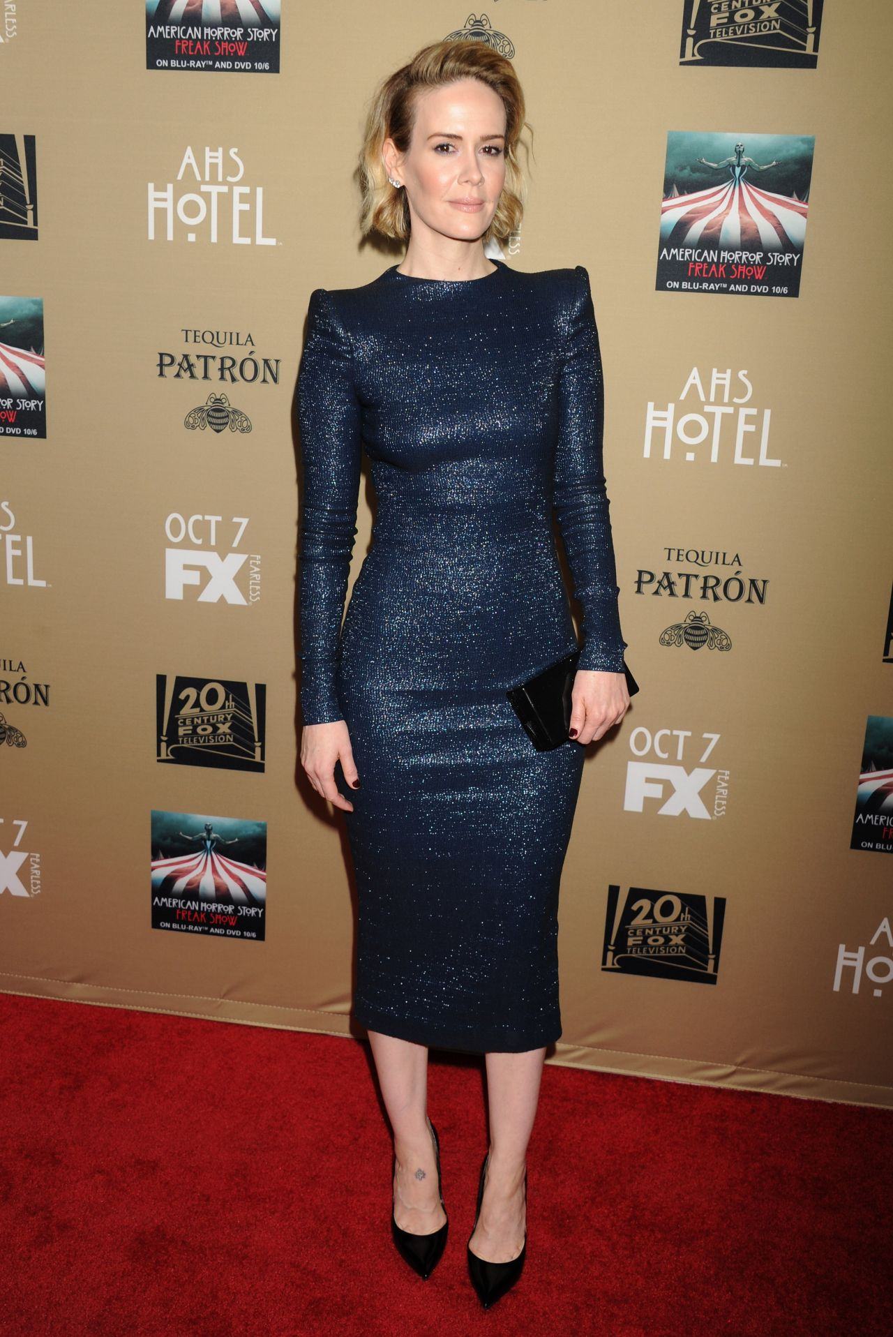 Sarah paulson fx s american horror story hotel screening in los angeles 1