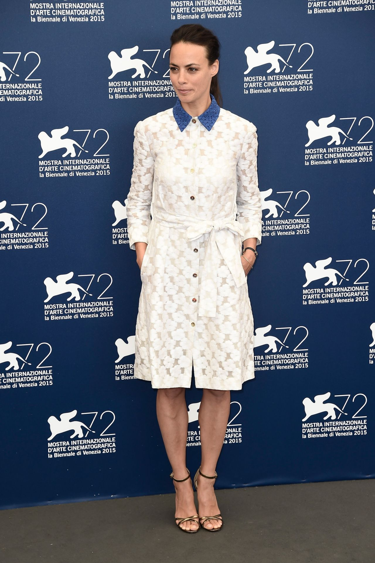 Berenice bejo the childhood of a leader photocall 72nd venice film festival 10