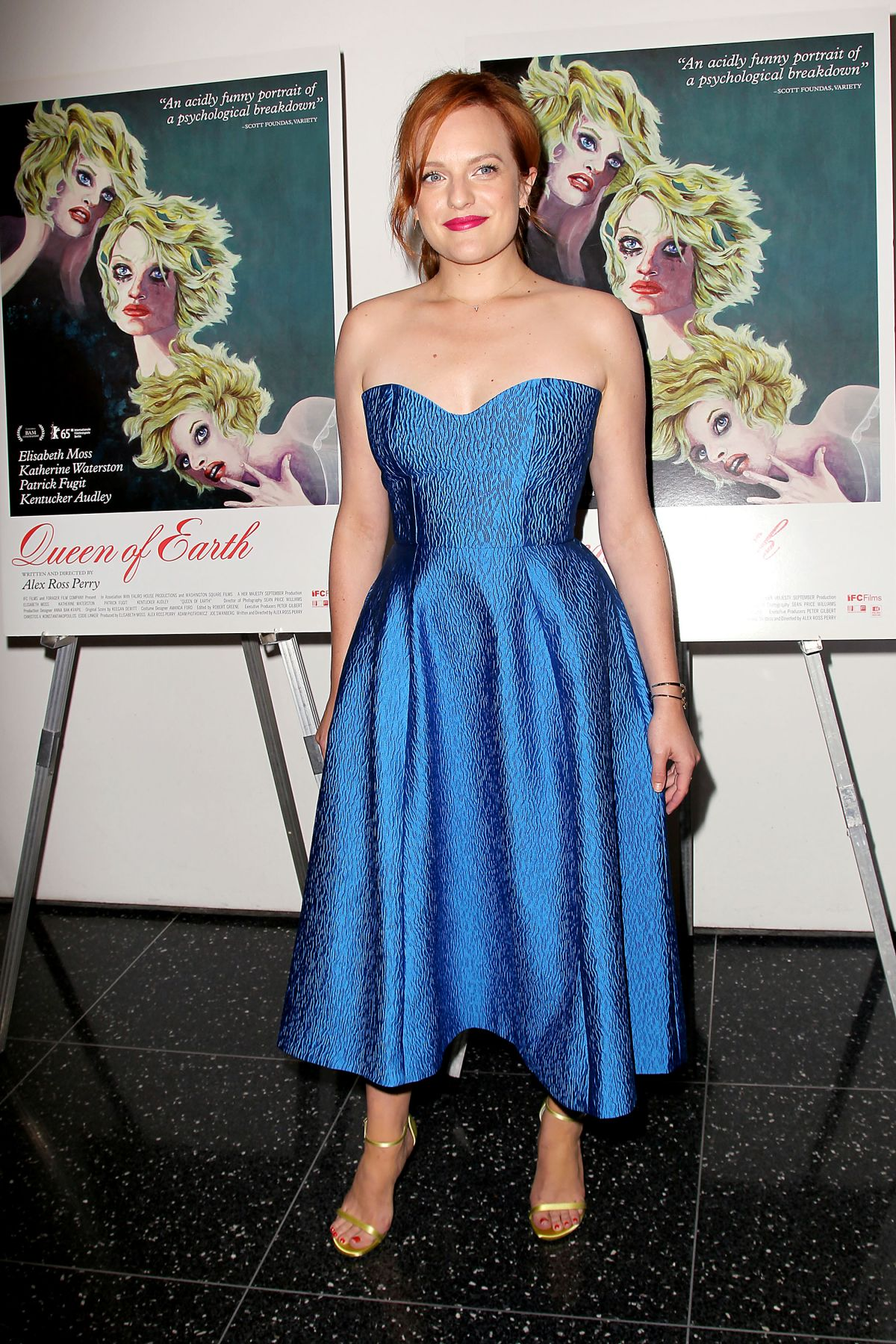 Elisabeth moss at queen of earth premiere in new york 6