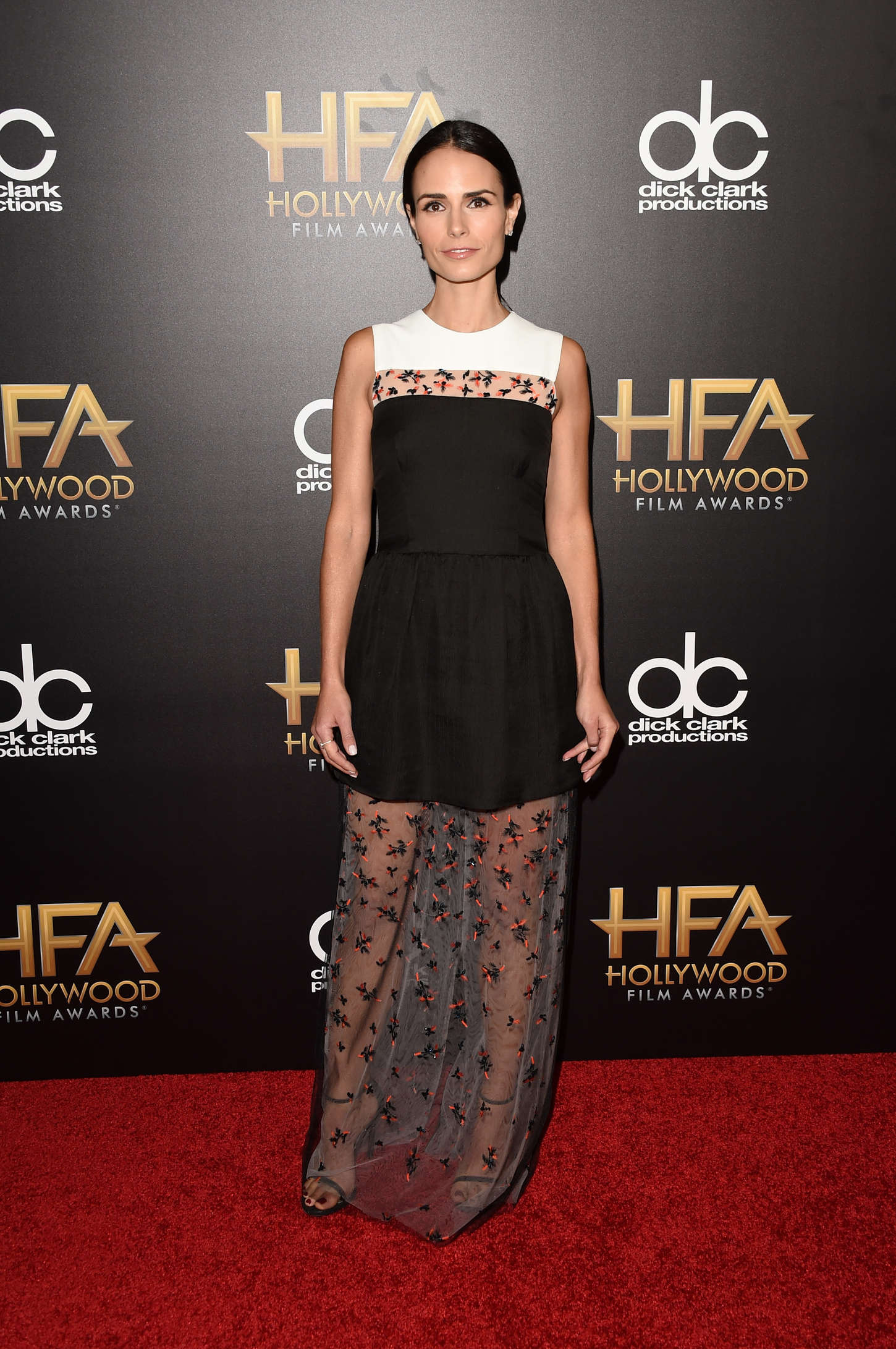 Jordana brewster in monique lhuillier at 19th annual hollywood film awards 2
