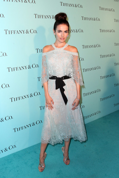 Camilla belle tiffany co celebrates unveiling hnyl1 jy1ckl