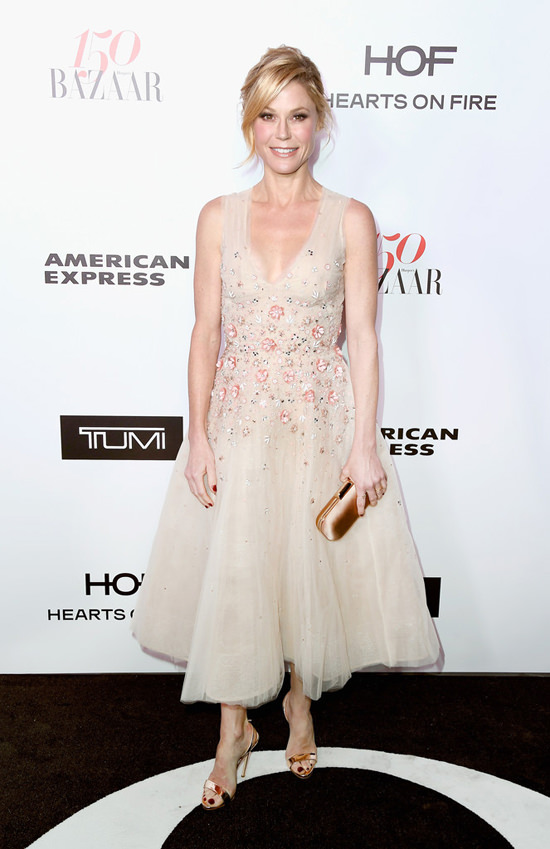 Harpers bazaar 150 most fashionable women red carpet fashion tom lorenzo site julie bowen