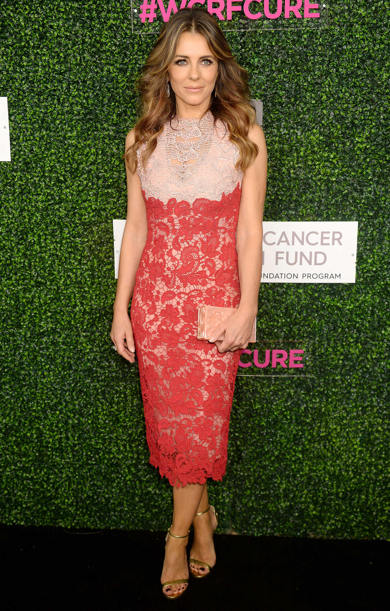 Elizabeth hurley at the womens cancer research fund hosts an unforgettable evening in los angeles 1