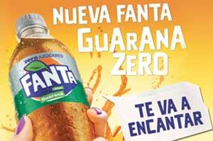 Montevideo Refrescos lanza Fanta Guaraná Zero