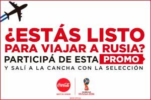 """Coca-Cola lleva a seis uruguayos a Rusia para ser los """"Abanderados por el Mundial"""""""