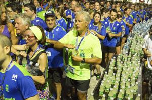 Miles de corredores se hidrataron con Vitale en la 44° Corrida Internacional de San Fernando