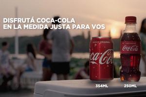 Coca-Cola invita a disfrutar de las bebidas con azúcar en la medida justa