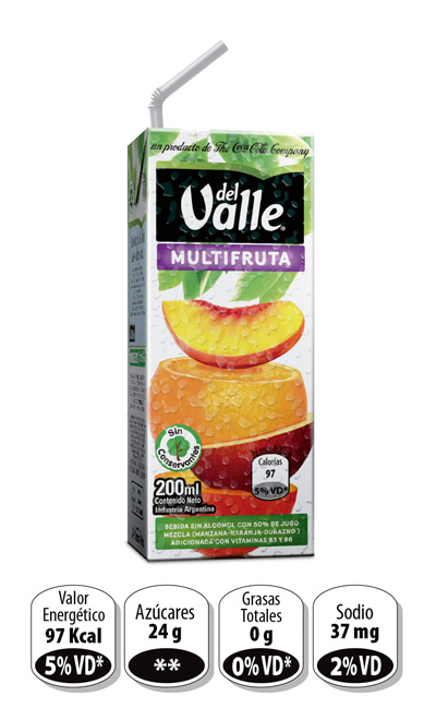 Del Valle Multifruta
