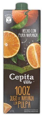 Cepita Del Valle 100% Jugo de Naranja