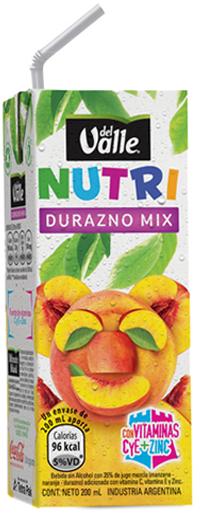 Del Valle Nutri Durazno Mix