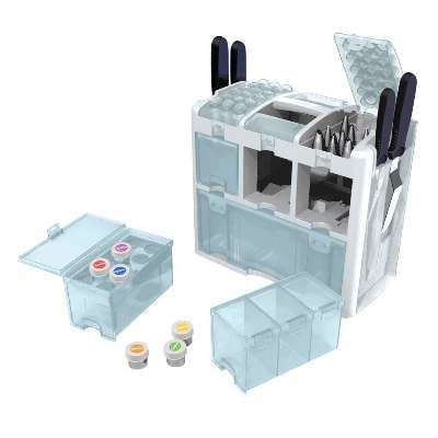 Wilton Cake Decorating Kit Level 1 : Wilton 409 623 Ultimate Tool Caddy 3 Level Cake Decorat eBay