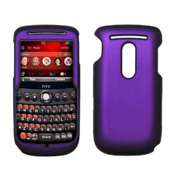 Accessory Export Purple Rubberized Snap-On Cover Hard Case Cell Phone Protector for HTC Dash 3G S522 [Accessory Export Packaging] at Sears.com