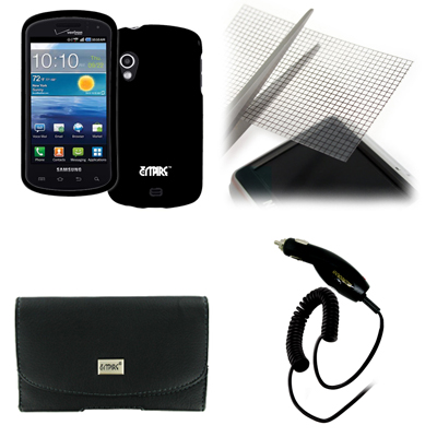 Empire for Sam Cell Phone Stratosphere Hard Case Black+Pouch+Generic Screen Guard+Charger at Sears.com