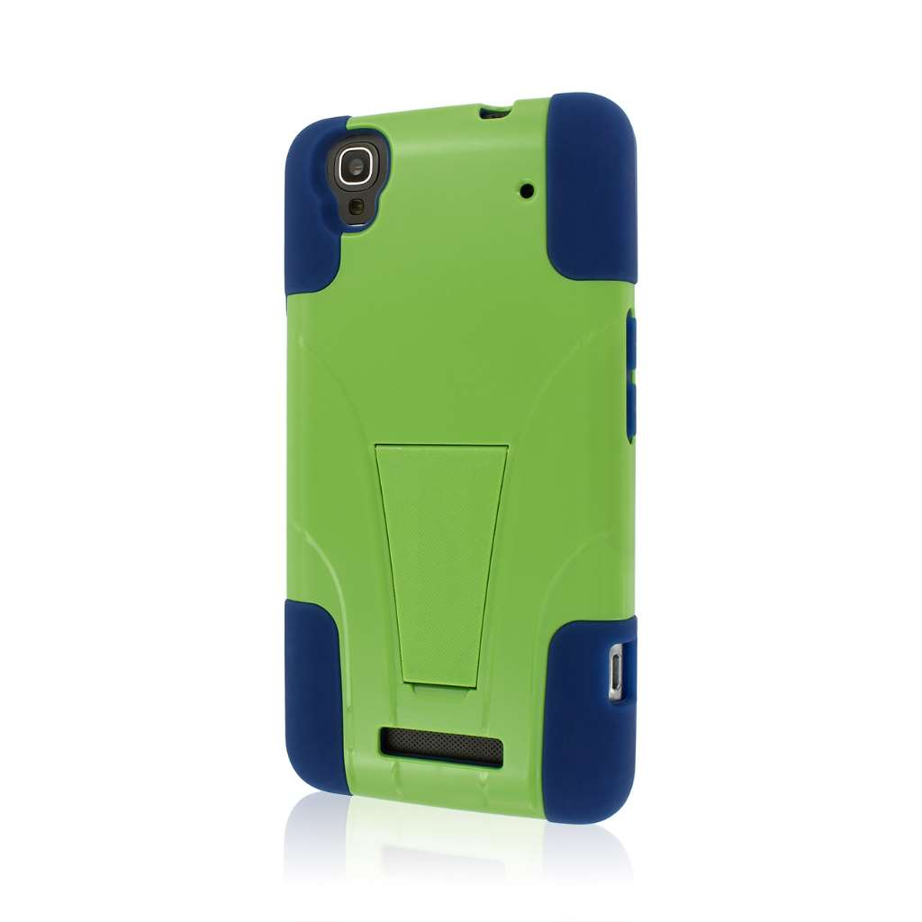 Tough Hybrid Kickstand Case Cover Protector for ZTE Boost ...