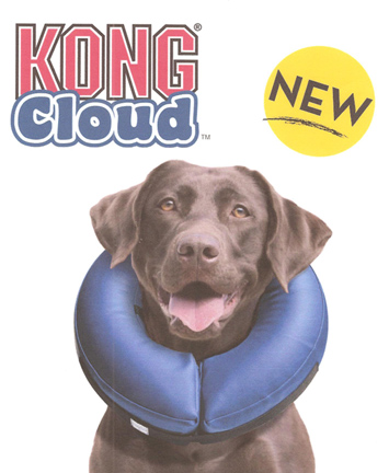 Kong Cloud Inflatable Protective E Collar For Recovering Dogs And Cats