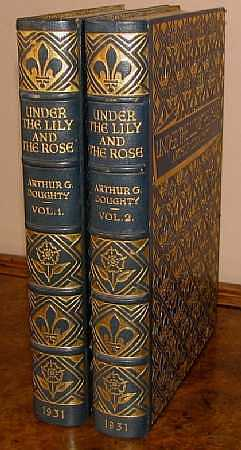 Under The Lily and The Rose. A Short History of Canada for Children. Two Volume Set., Arthur G. Doughty