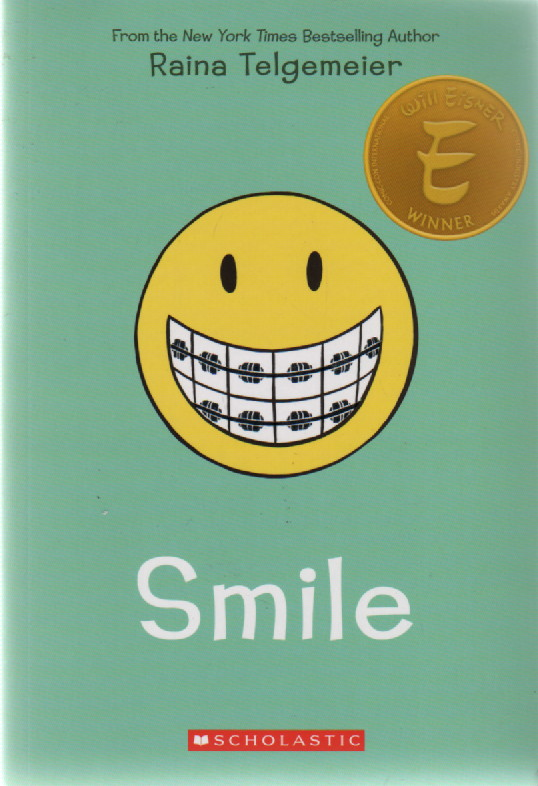 Smile, Raina Telgemeier