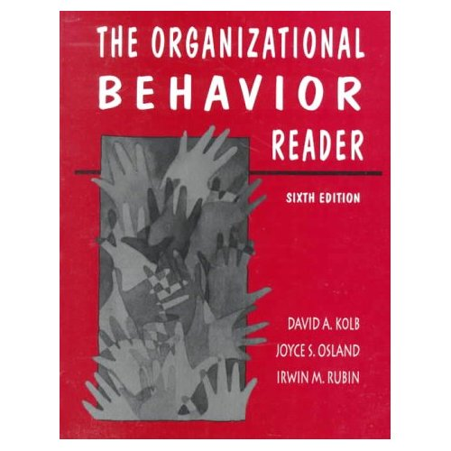 """Organizational Behavior Reader, The"", ""Osland, Joyce S., Kolb, David A."""