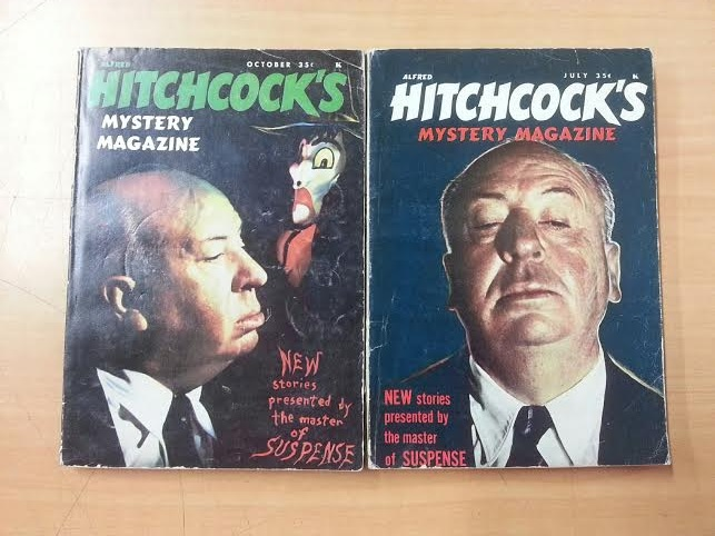 2 of Alfred Hitchcock's Mystery Magazines:  July 1962 and Oct 1962