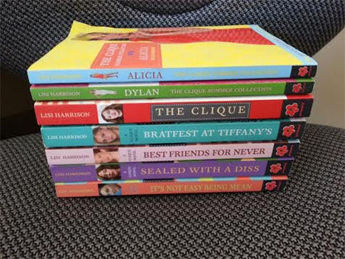 Lot of 7 Clique Novels by Lisi Harrison