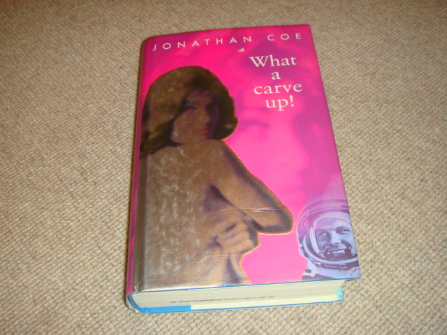 WHAT-A-CARVE-UP-Jonathan-Coe-1-1-1st-ed-HBDJ-1994-Viking-hardback-ex-library