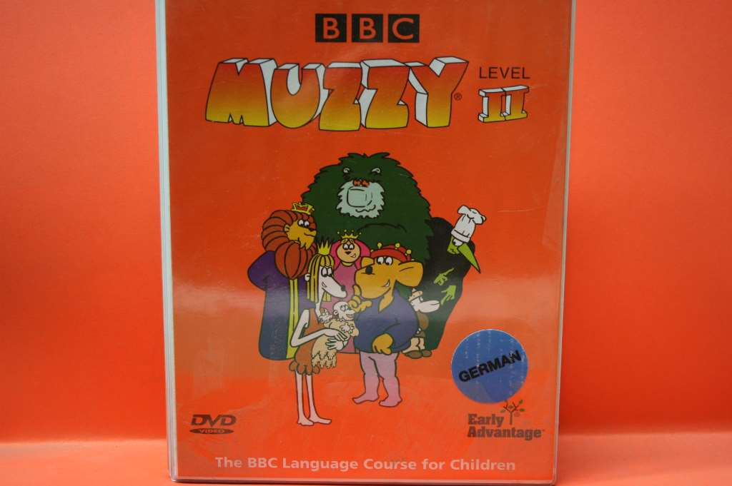 MUZZY THE BBC GERMAN LANGUAGE COURSE FOR CHILDREN 6 CDS AUDIO BOOK ...
