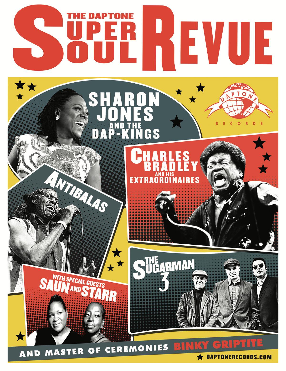 Daptone soul revue poster