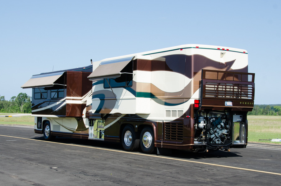 2002 newell coach newell 45 39 priced at 239500 for Motor vehicle open on saturday