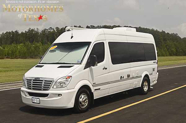 2009 airstream sprinter interstate 3500 22 39 priced at 59500 for Mercedes benz 3500 airstream