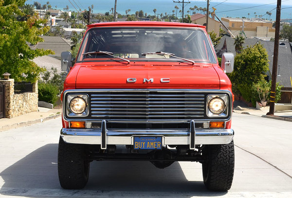 What This GMC Van Lacks In Speed It Makes Up For Just About Every Other Category With A New Crate Motor Paired Period Pathfinder 4x4