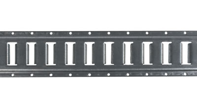 10' Horizontal Galvanized E-Track