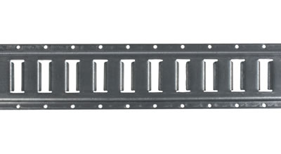 5' Horizontal Galvanized E-Track