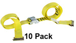 2'' x 12' E-Track Cam Buckle Strap (10 Pack) image