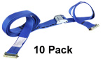2'' x 20' E-Track Cam Buckle Strap (10 Pack) image